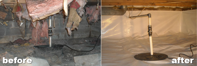 Crawl space repair and waterproofing company in for Crawl space insulation cost estimator