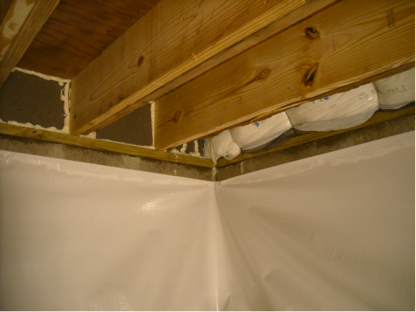 Crawl Space Repair And Waterproofing Company In